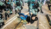 Police, protesters clash in Hong Kong's  pro-democracy rally
