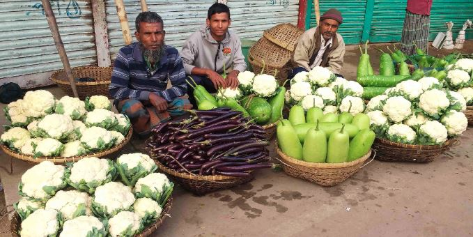 Bumper winter vegetable yield delights Sylhet farmers