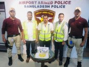 3 held with 2.32kg gold at Dhaka airport