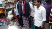 Rickshaw puller, passenger dies as bus runs over them on Dhaka-Aricha highway