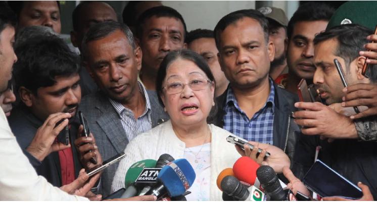 Govt conspiring to kill Khaleda in jail, alleges sister
