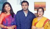 Apurba, Moshumi and Mamo in 'Brishti Dhara'