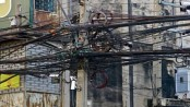 Obnoxious overhead cables still dangling in Dhaka amid infighting