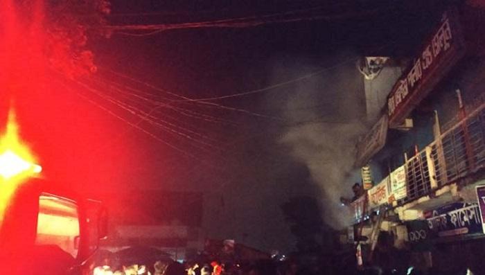 17 shops gutted in Ashulia market fire