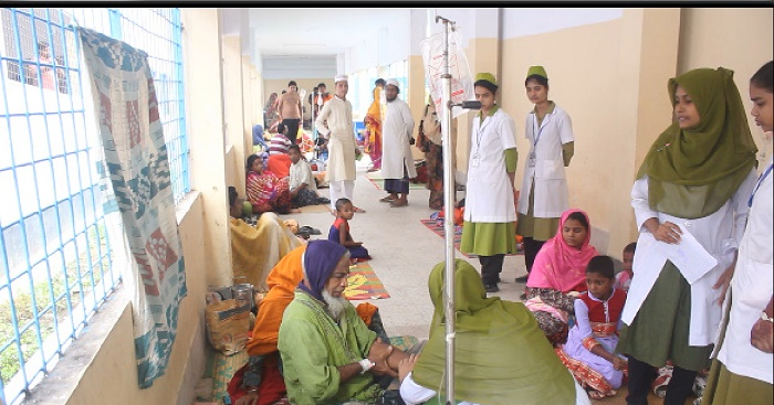 Diarrhoea, pneumonia patients on the rise in Sirajganj