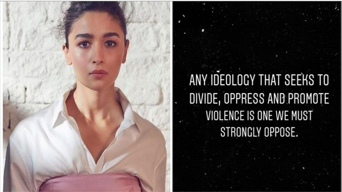 Alia Bhatt on JNU violence:'It's time to stop pretending that all is fine'