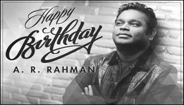Happy Birthday AR Rahman as he turns 53