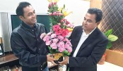 Bashundhara Group  MD greets Finance  Minister