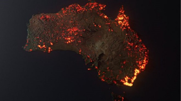 Australia fires: Misleading maps and pictures go viral