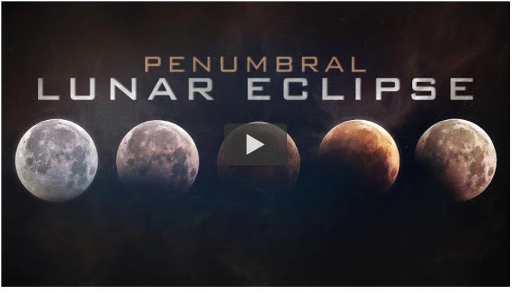Penumbral Lunar Eclipse on January 10