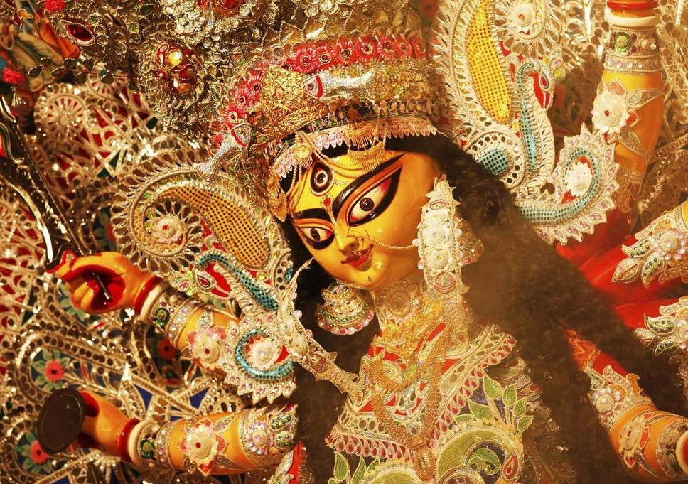 Indian man kills 12-year-old sister in sacrifice to Durga