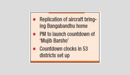 Countdown to 'Mujib Barsho' begins today