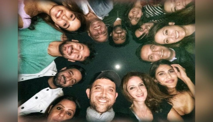 Hrithik celebrates his birthday with ex-wife Sussanne