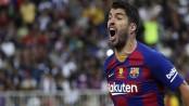 Barcelona striker Luis Suarez to undergo knee surgery