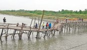 10,000 people in trouble with new, but collapsed Khulna bridge