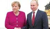 Merkel, Putin discuss Mideast flashpoints