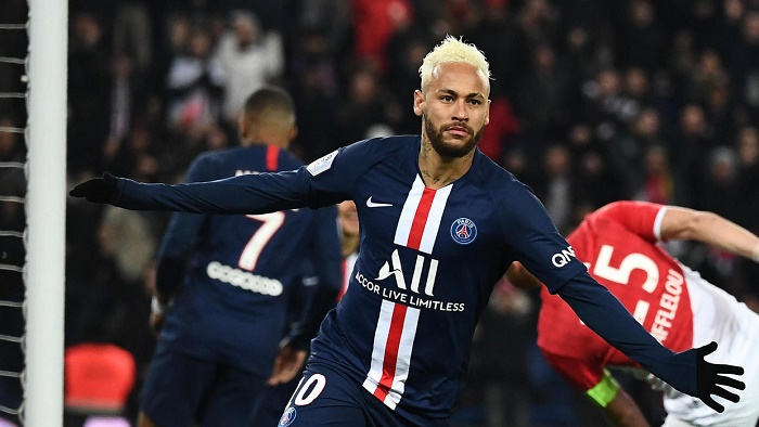 Neymar shines but PSG held by Monaco in thriller