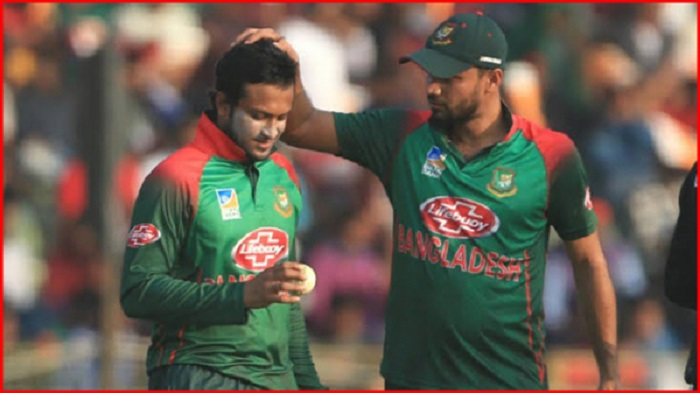 Mashrafe, Shakib dropped from new central contract