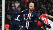 Neymar shines but PSG held by Monaco in thriller