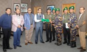 Bashundhara Group donates land to Ansar-VDP