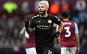 Aguero makes history as Man City hit Villa for six