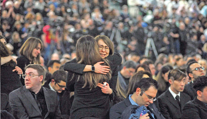 Anger, grief as Canada remembers Iran plane crash victims