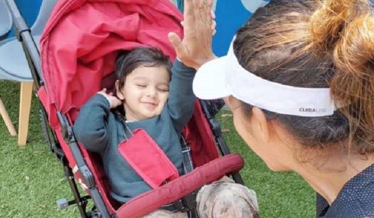India's Tennis star Sania Mirza enjoys winning return after having baby
