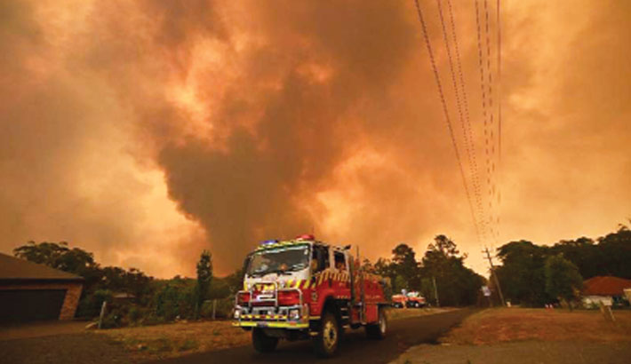Australian bushfire smoke likely to make Earth 'full circuit'