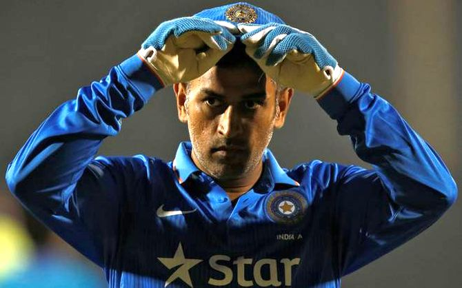 MS Dhoni dropped from BCCI's central contracts list