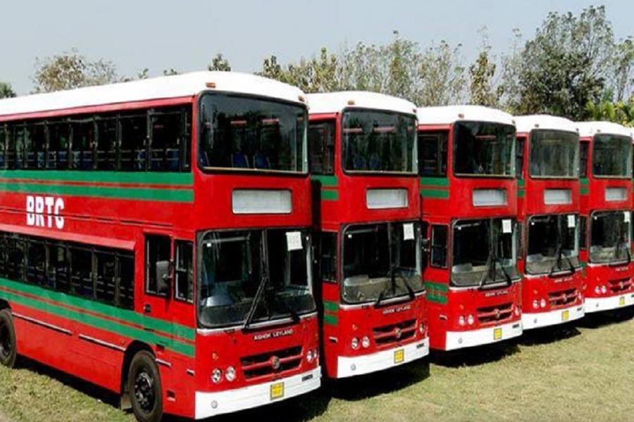 Chattogram students get 10 double-decker buses as PM's gift
