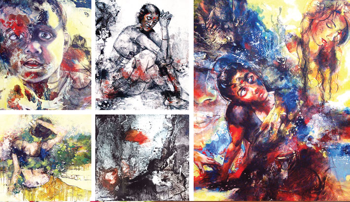 Painting exhibition 'Expression of Life' at AFD