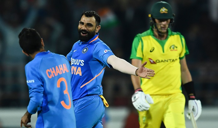 India level series beating Australia in second ODI