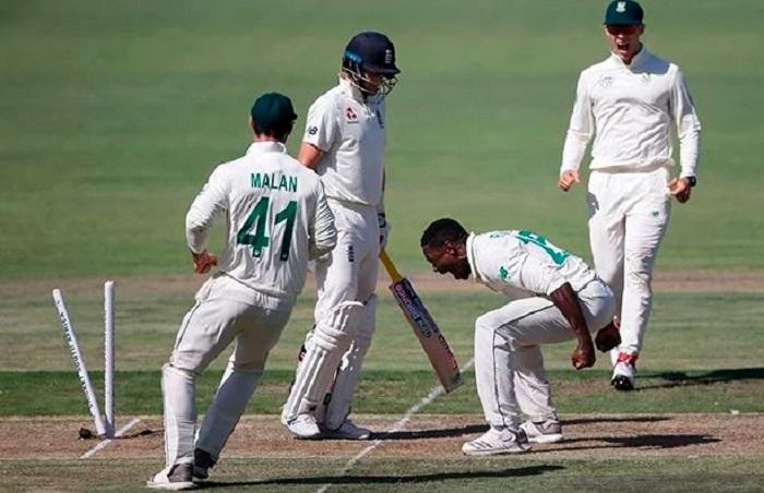 Rabada banned for Wanderers Test over Root dismissal celebration