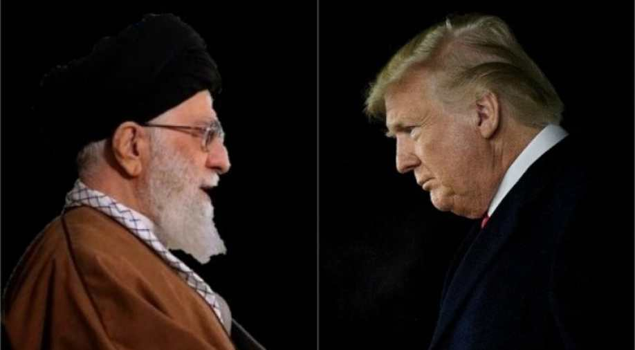 Trump warns Khamenei to be 'careful with his words'