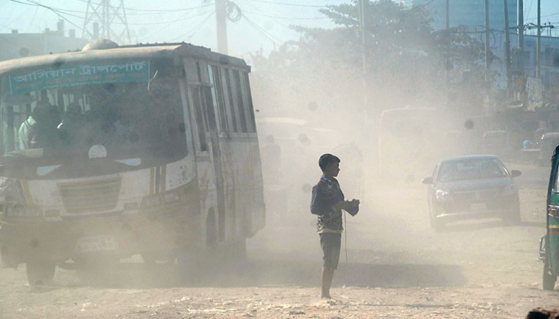 Air Quality Index: Dhaka ranks 5th worst