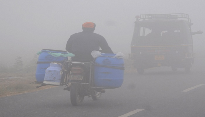 Cold wave prevails in most parts of Punjab, Haryana