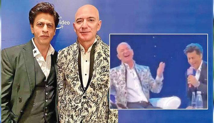 SRK made Jeff Bezos say 'Don' dialogue