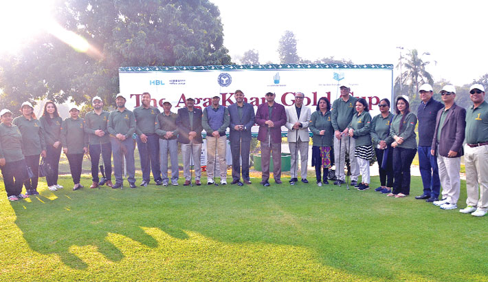 Aga Khan Gold Cup Golf begins