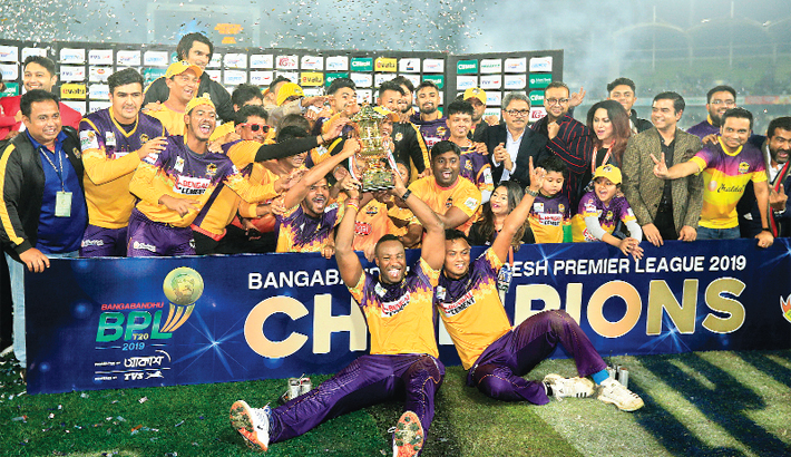 Rajshahi crowned champions