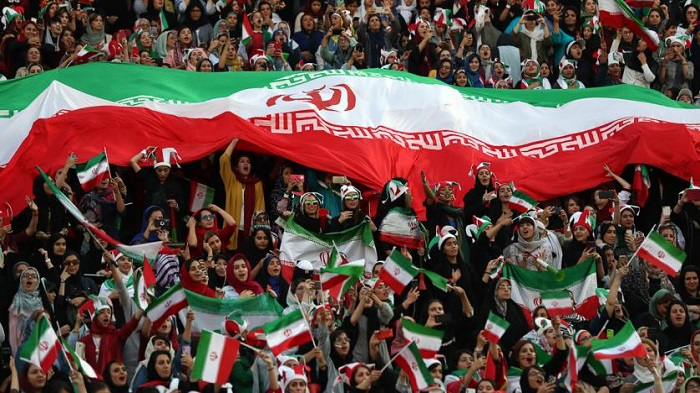 Iran banned from hosting international football