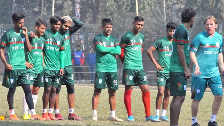 Bangabandhu Gold Cup: Bangladesh take on Sri Lanka in must-win clash