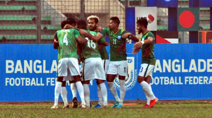 Bangladesh booters beat Sri Lanka by 3-0 goals in Bangabandhu Gold Cup