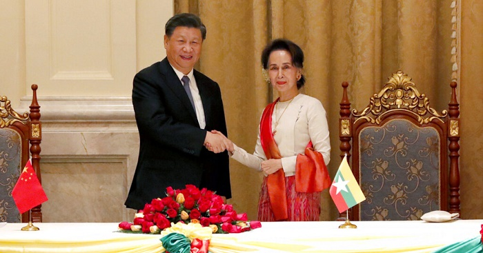 China's Xi ends Myanmar visit with flurry of agreements