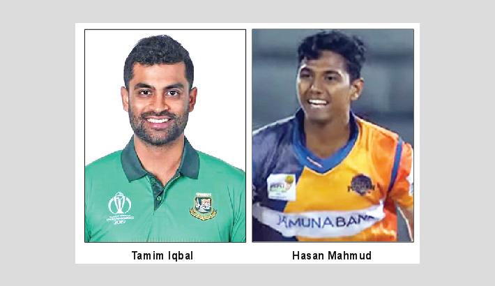 Tamim returns, rookie Hasan in for Pak T20