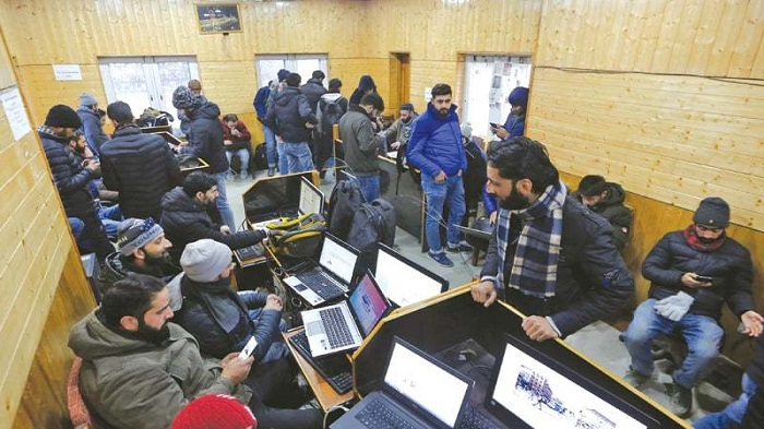 Occupied Kashmir Internet to be firewalled: report