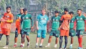 Bangabandhu Gold Cup: Booters to face Sri Lanka in must-win clash this afternoon