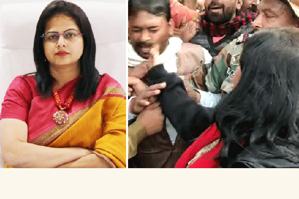 Woman IAS officer slaps BJP worker during pro-CAA rally (Video)