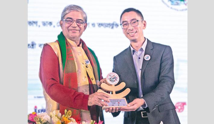Huawei gets 'Best Pavilion' award