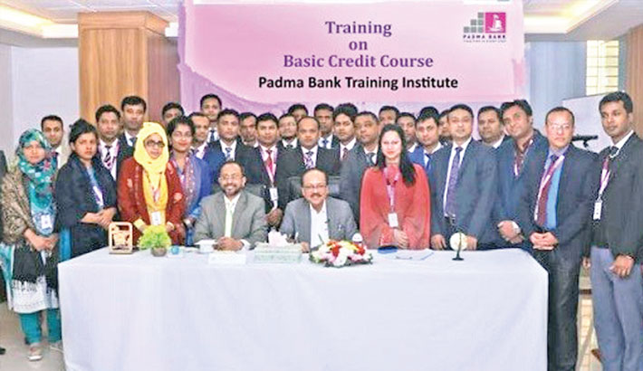 Padma Bank holds training course