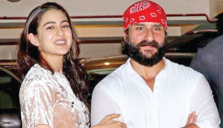Sara says being Saif's daughter is a tag she's proud of